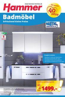 billige badmobel, billig hammer badmöbel | deutsche deko | pinterest, Design ideen