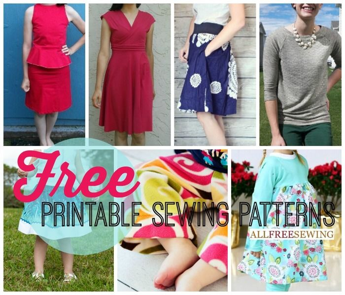 Awesome Printable Patterns Sewing Image Collection - Knitting ...