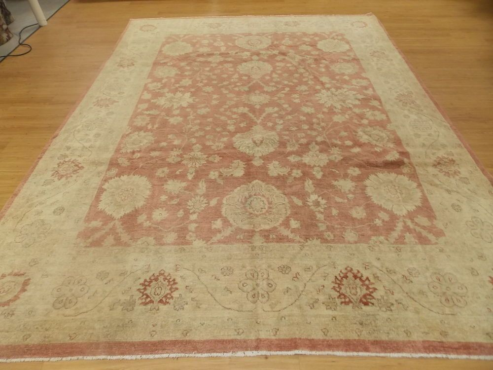 8 11 X 11 6 Rust Beige Gold Hand Knotted Wool Peshawa Oriental Area Rug New Oriental Area Rugs Rugs Antique Oriental Rugs