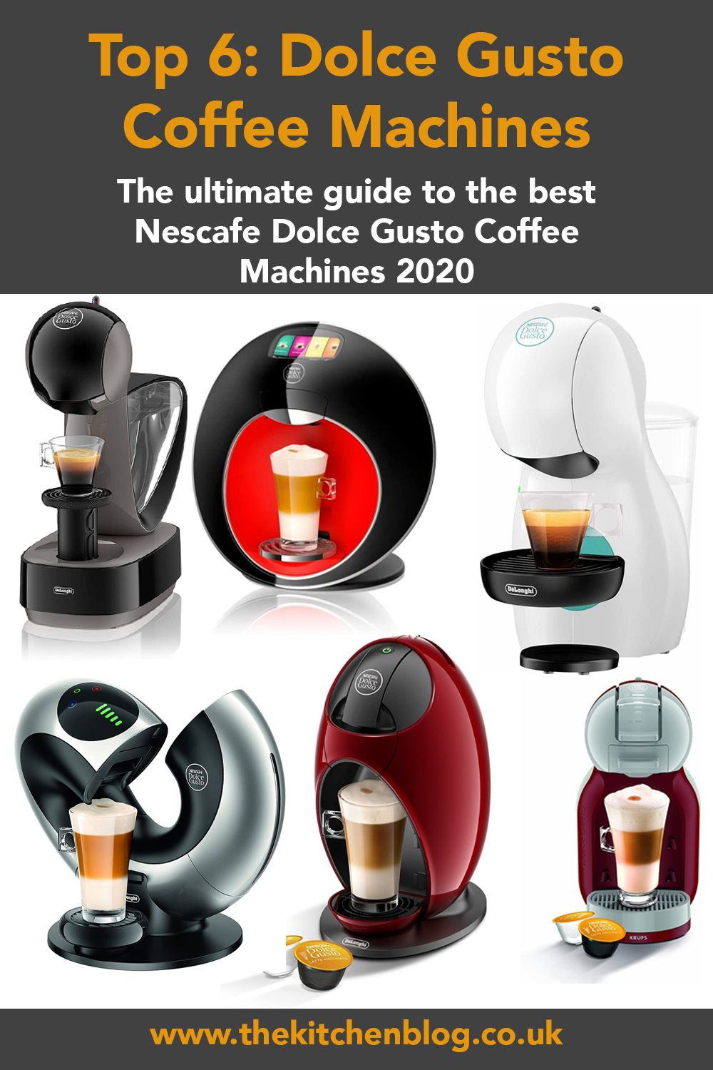 Top 6 Dolce Gusto Coffee Machines 2020 in 2020 Dolce