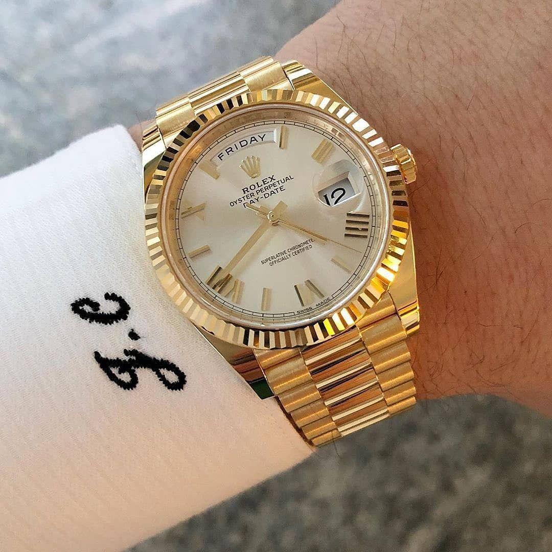 Rolex Dorado Rolex Watches Rolex Watches For Men Gold Rolex