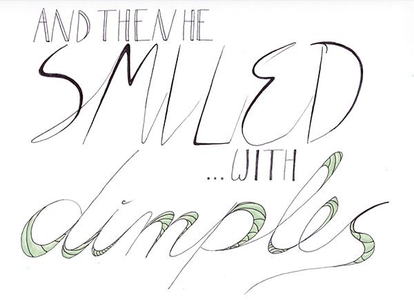 Dimples Quote Anna Skarie (sharpie) Dimples quotes