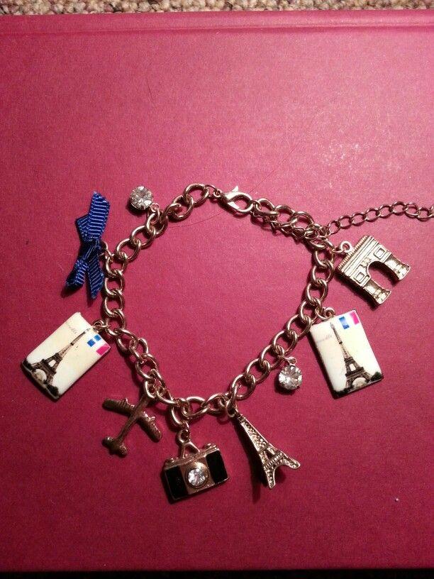 Charm bracelet. My charms. JB
