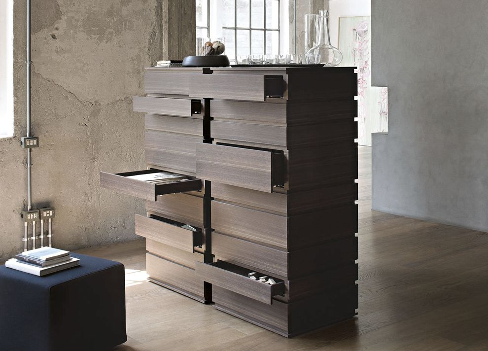 Lema Nine Tall Chest Of Drawers  Contemporary Bedroom Furniture At Go Modern,  London