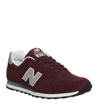 official photos 17736 17e25 New Balance, 373, Burgundy Silver | Shoes, shoes, shoes ...