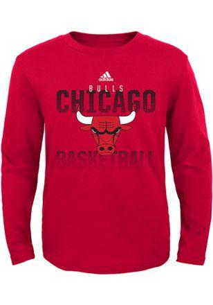 d93267bbd1adb7 Chicago Kids Red Fade Away T-Shirt