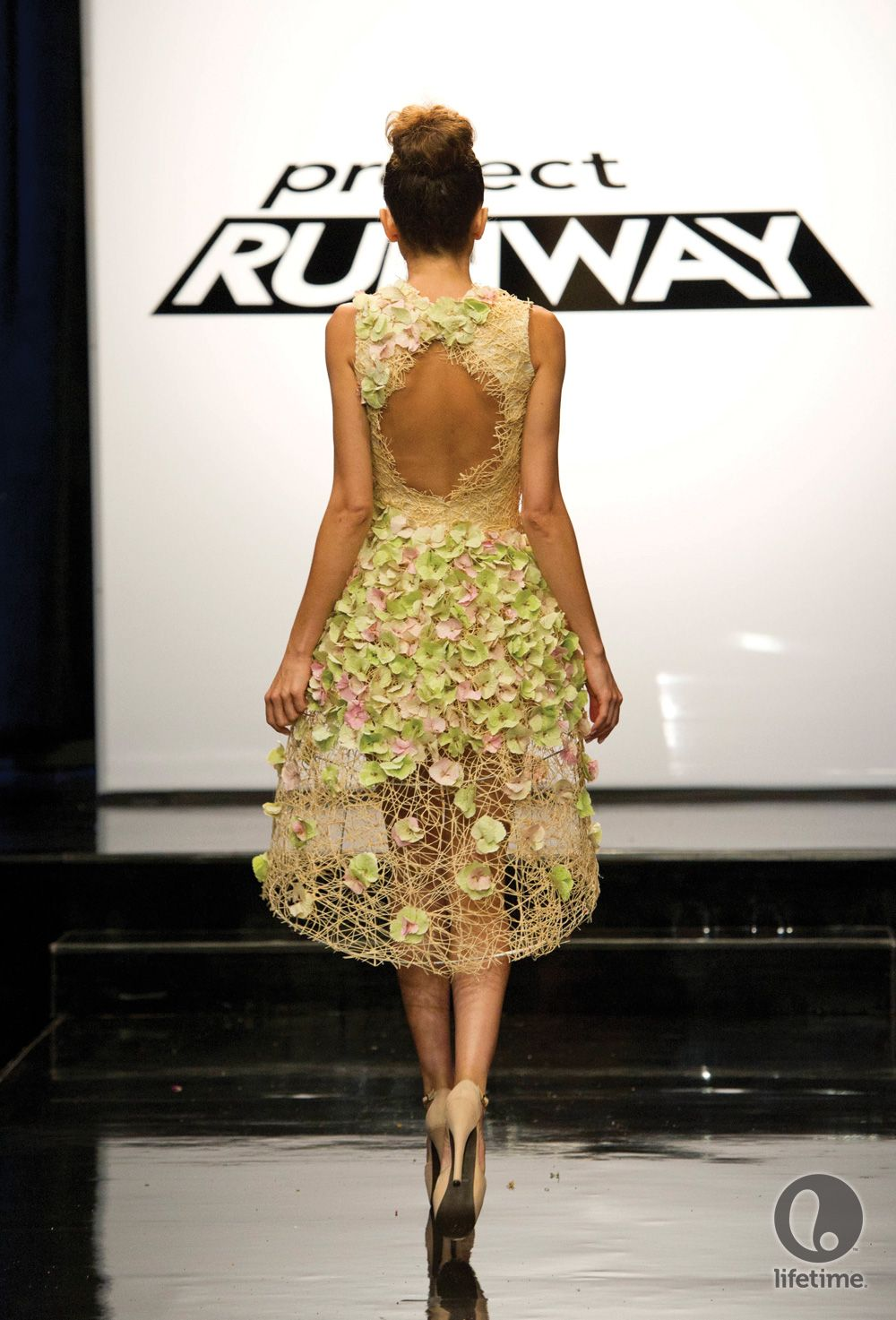 Gray Skies Project Runway Unconventional Materials Challenge Project Runway Dresses Project Runway Project Runway Designer