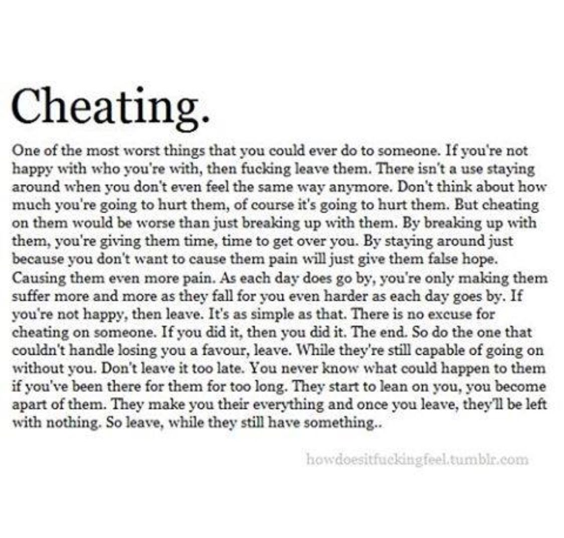 Explore Quotes About Cheaters Cheating Quotes and more
