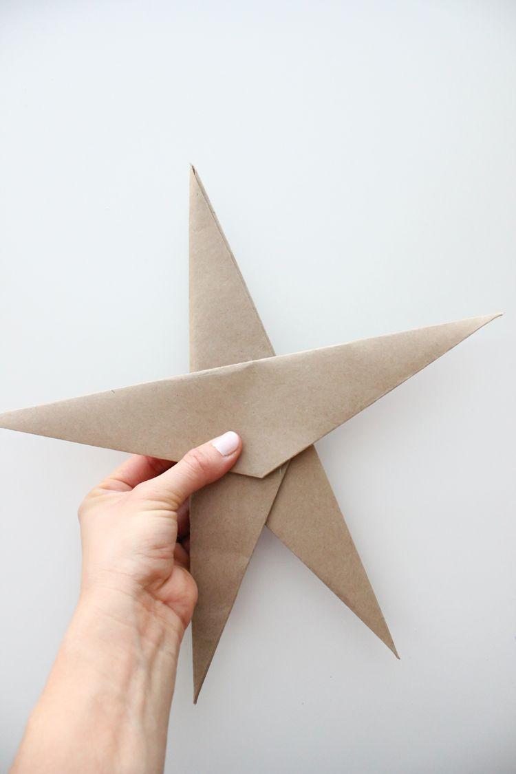 Almost Origami Ornament Stars | Origami ornaments ...