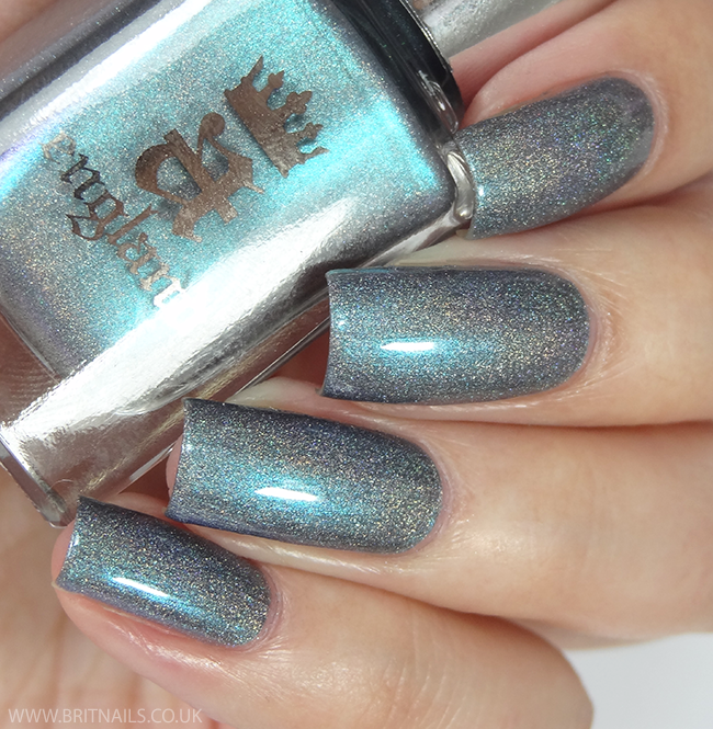 A-England Rossetti's Goddess Collection Swatches and Review | Brit Nails - Captive Goddess