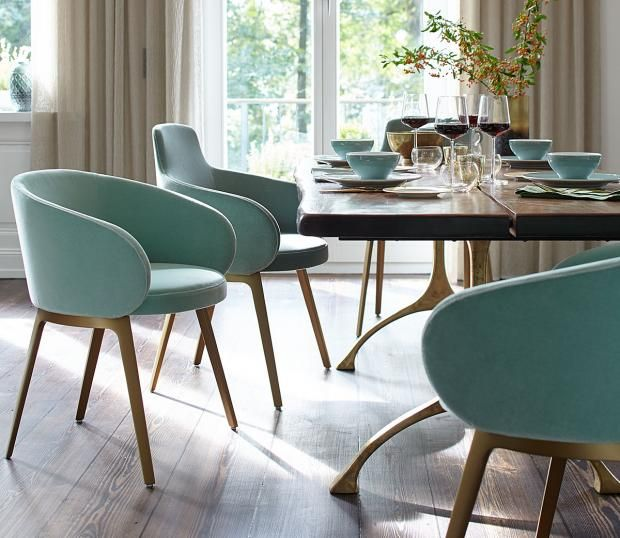 gr n als trendfarbe gr n elegant inszenieren in 2019 esszimmer st hle esszimmer und wohnen. Black Bedroom Furniture Sets. Home Design Ideas
