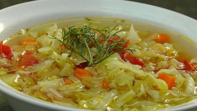 суп для похудения капуста помидоры