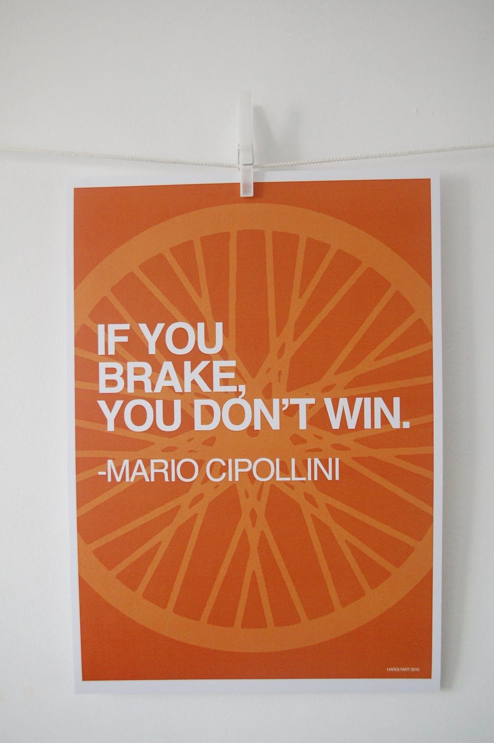 Brake Quotes If You Brake You Don't Win  Harderbetterfasterstronger