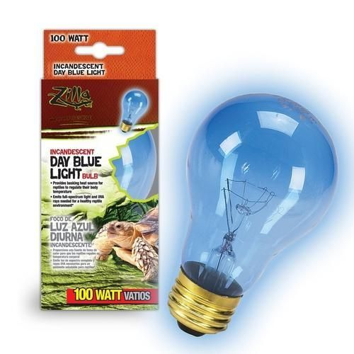 Zilla Day Blue Light Incandescent Bulb 100w Bulb Incandescent Bulbs Energy Saver