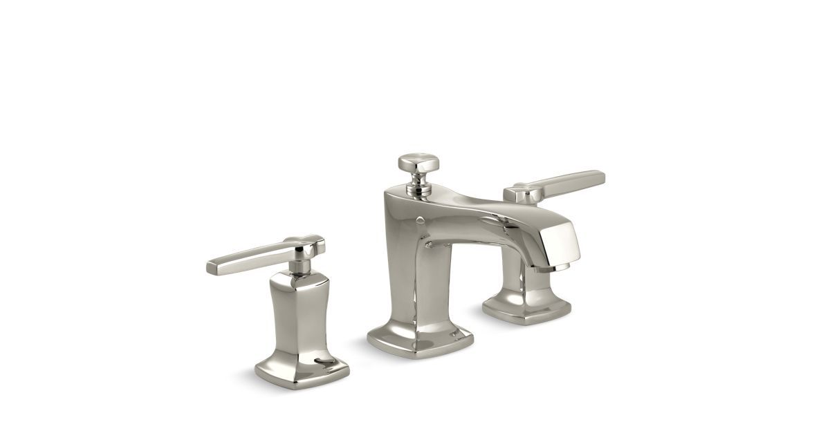 The K-16232-4 bathroom sink faucet brings updated classic styling to ...