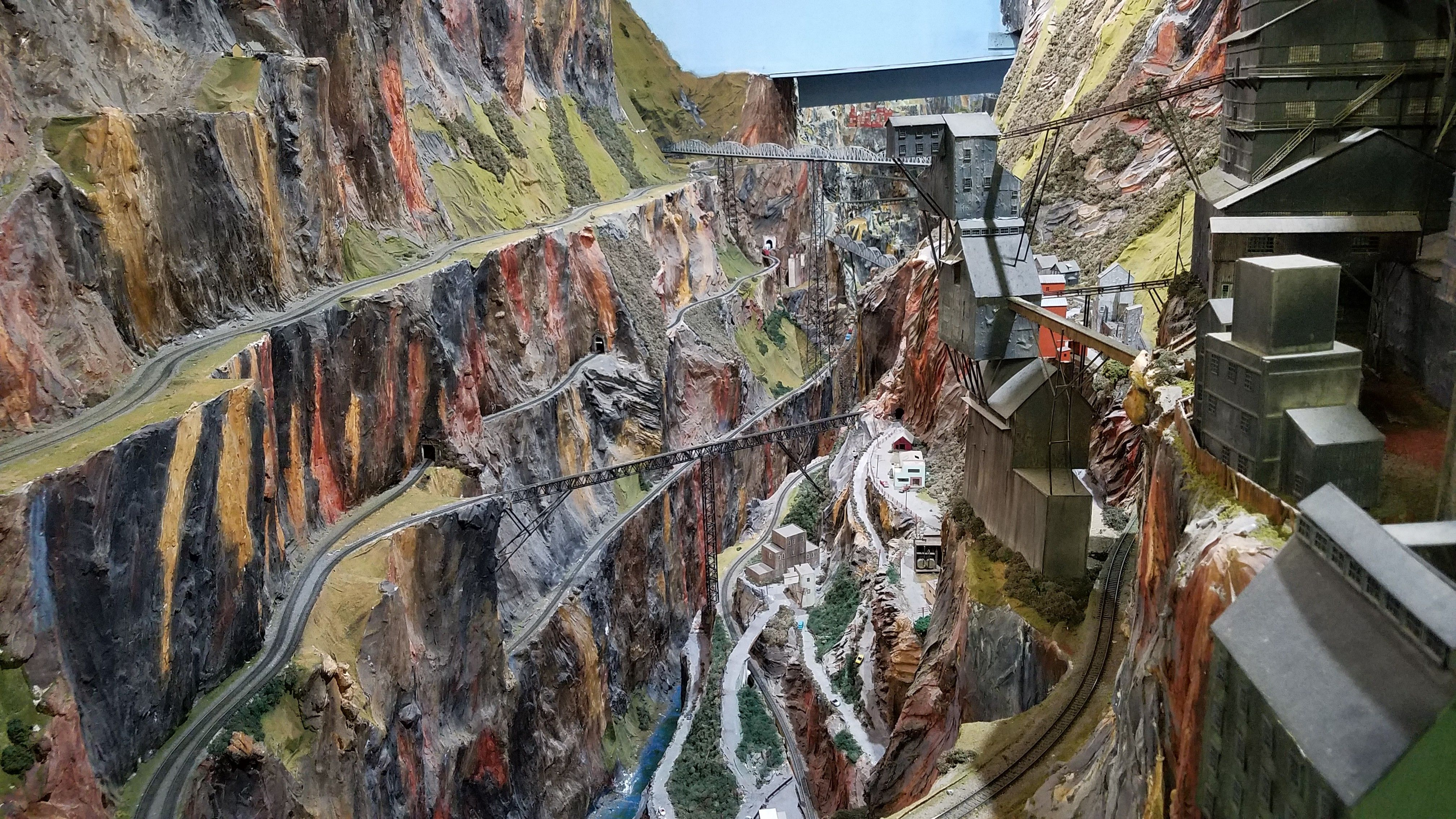 One of the most beautiful railroad track of northlandz