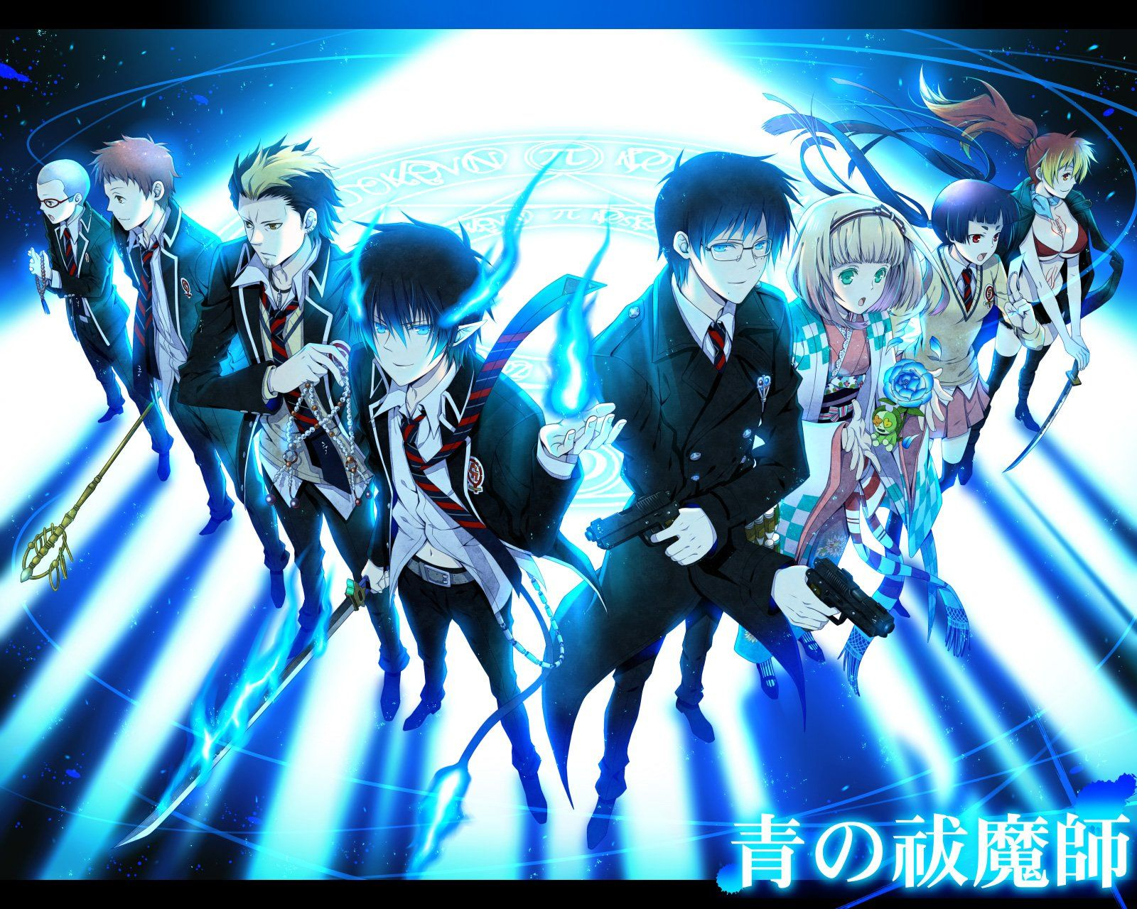 256 blue exorcist hd wallpapers backgrounds wallpaper abyss