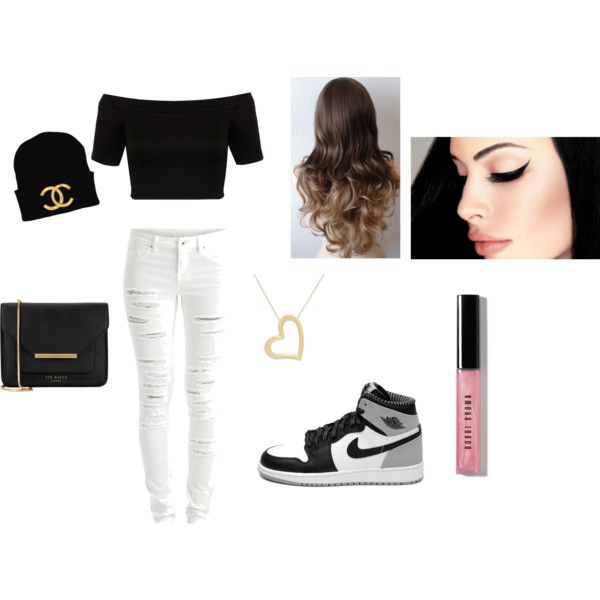Casual For Me by queenlea101 on Polyvore featuring Miss Selfridge, VILA, Ted Baker, Bobbi Brown Cosmetics and Consigli