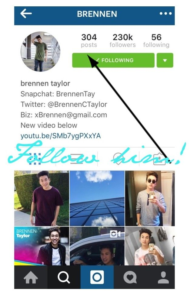 """""""Follow him on Instagram :))"""" by brennentaylor ❤ liked on Polyvore"""