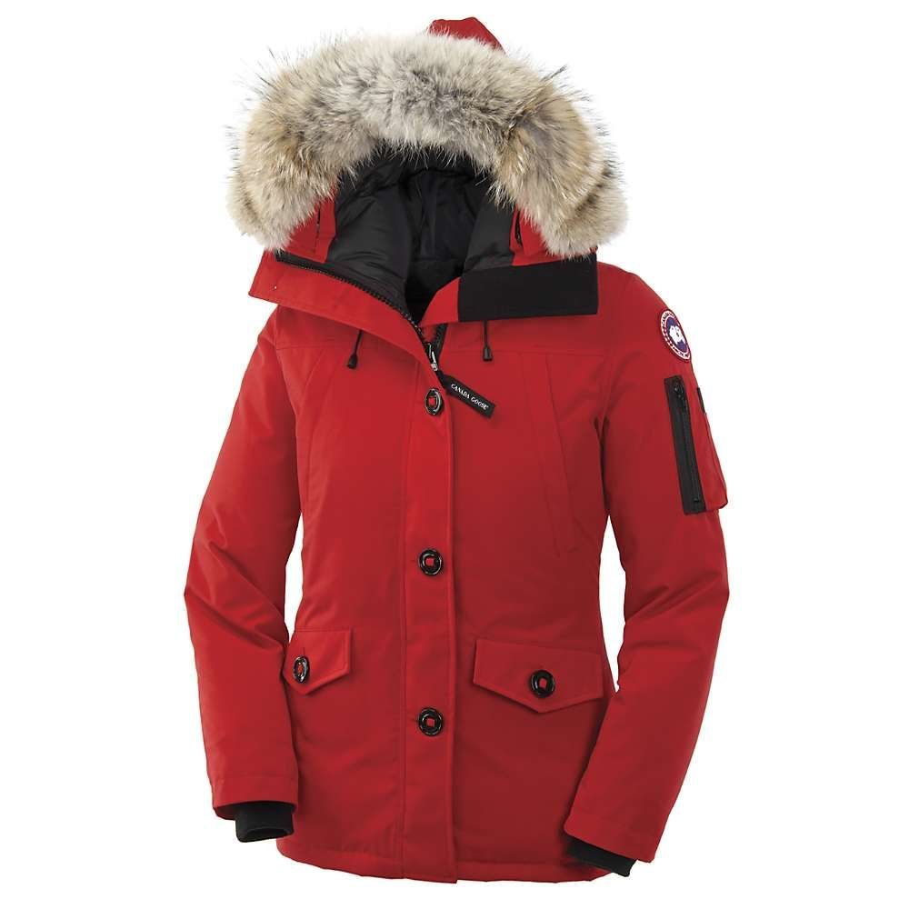 women Canada Goose Montebello Padded Parka Jacket Red – buy