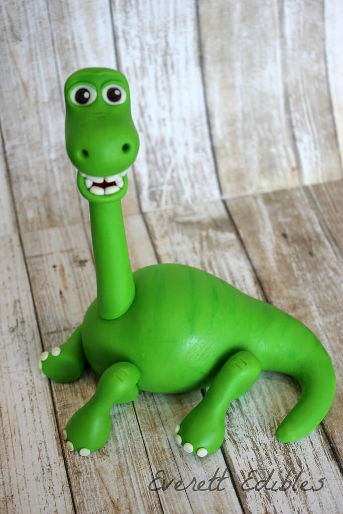 The Good Dinosaur Fondant Cake Topper Cake Decoration Arlo Spot