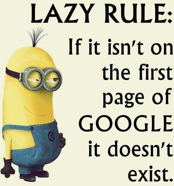Lazy Google Rule
