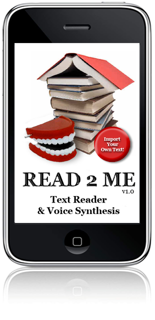Read2Me for iPhone Text Reader & Voice Synthesis