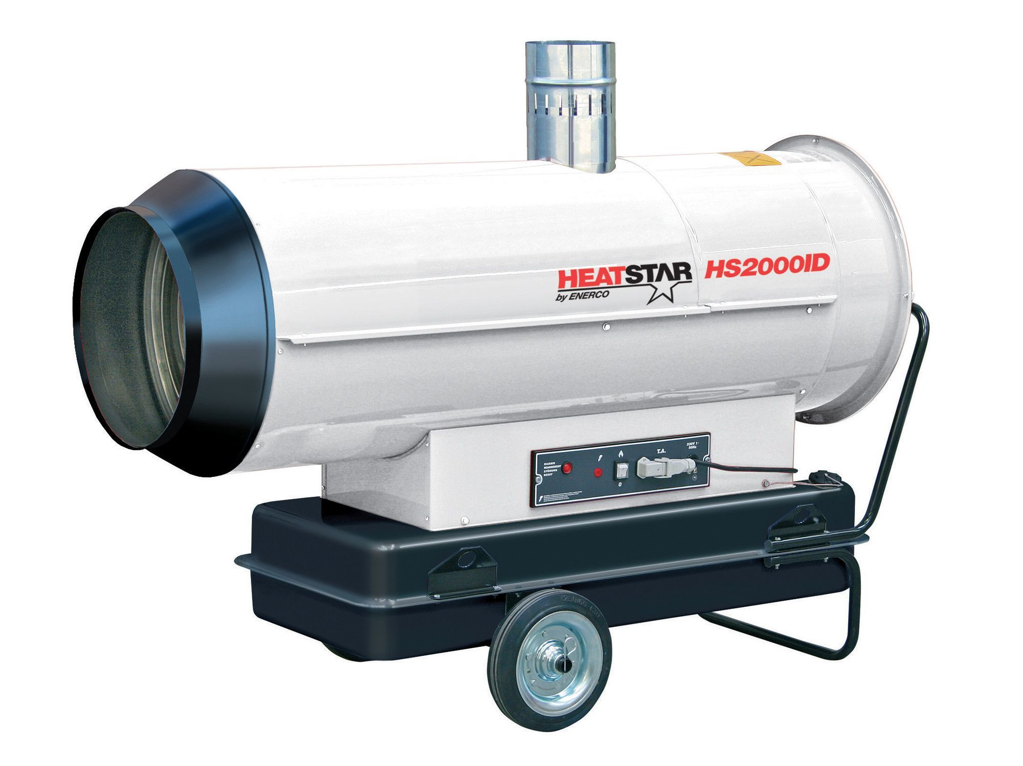Indirect Fired 200,000 BTU Portable Diesel Forced Air