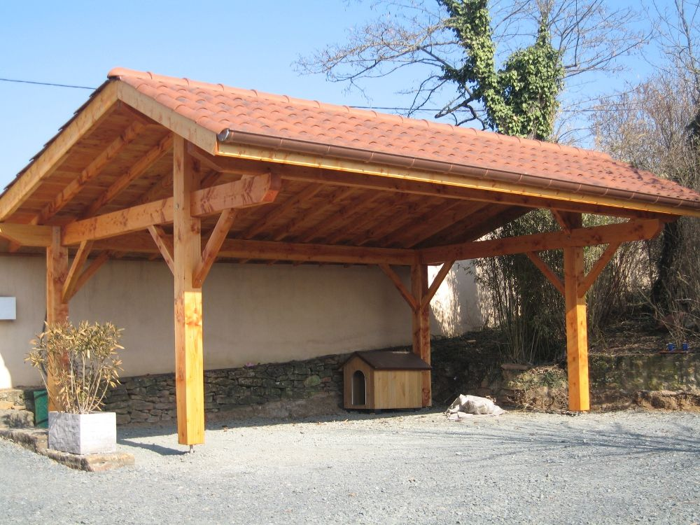 carport rhone alpes Carport, Carport designs, Carport plans