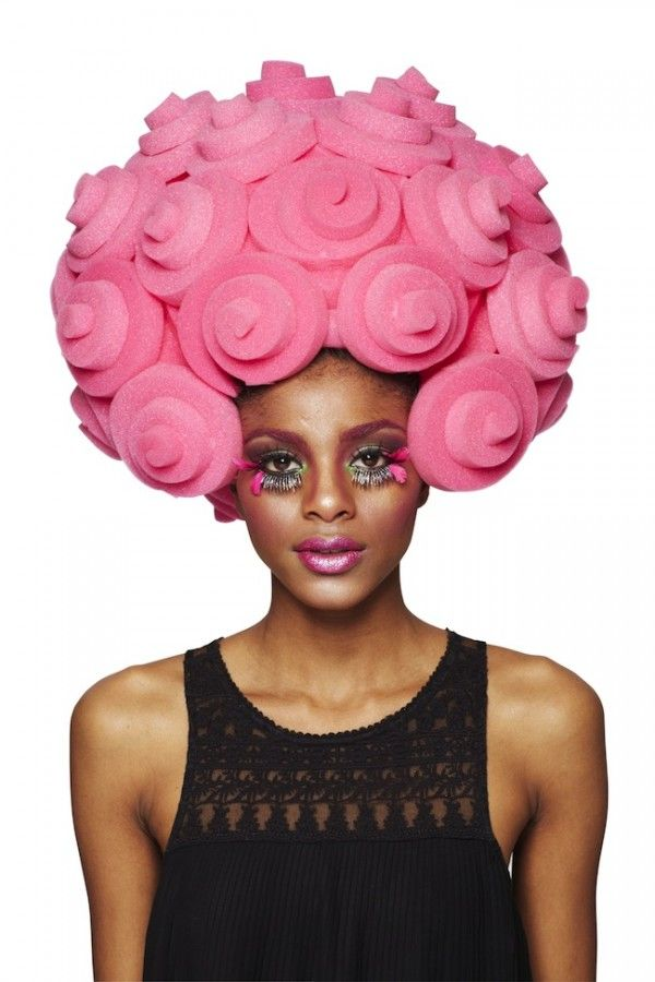 Awesome wig by Chris March from project runway. Want for Halloween!! a4740be36
