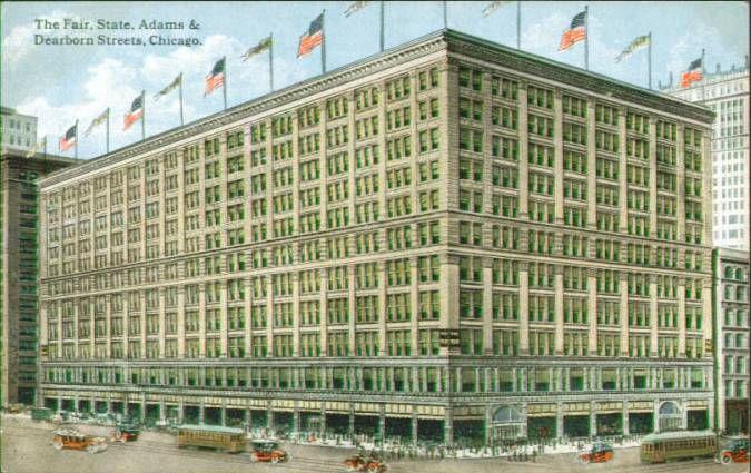 fair store (1890-91) Le Baron Jenney, chicago