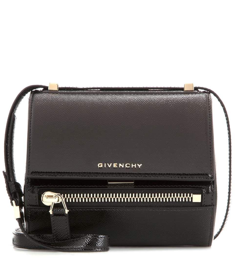 ecddd8e4d34c GIVENCHY Pandora Box Mini Patent Leather Shoulder Bag.  givenchy  bags  shoulder  bags  patent  suede  lining