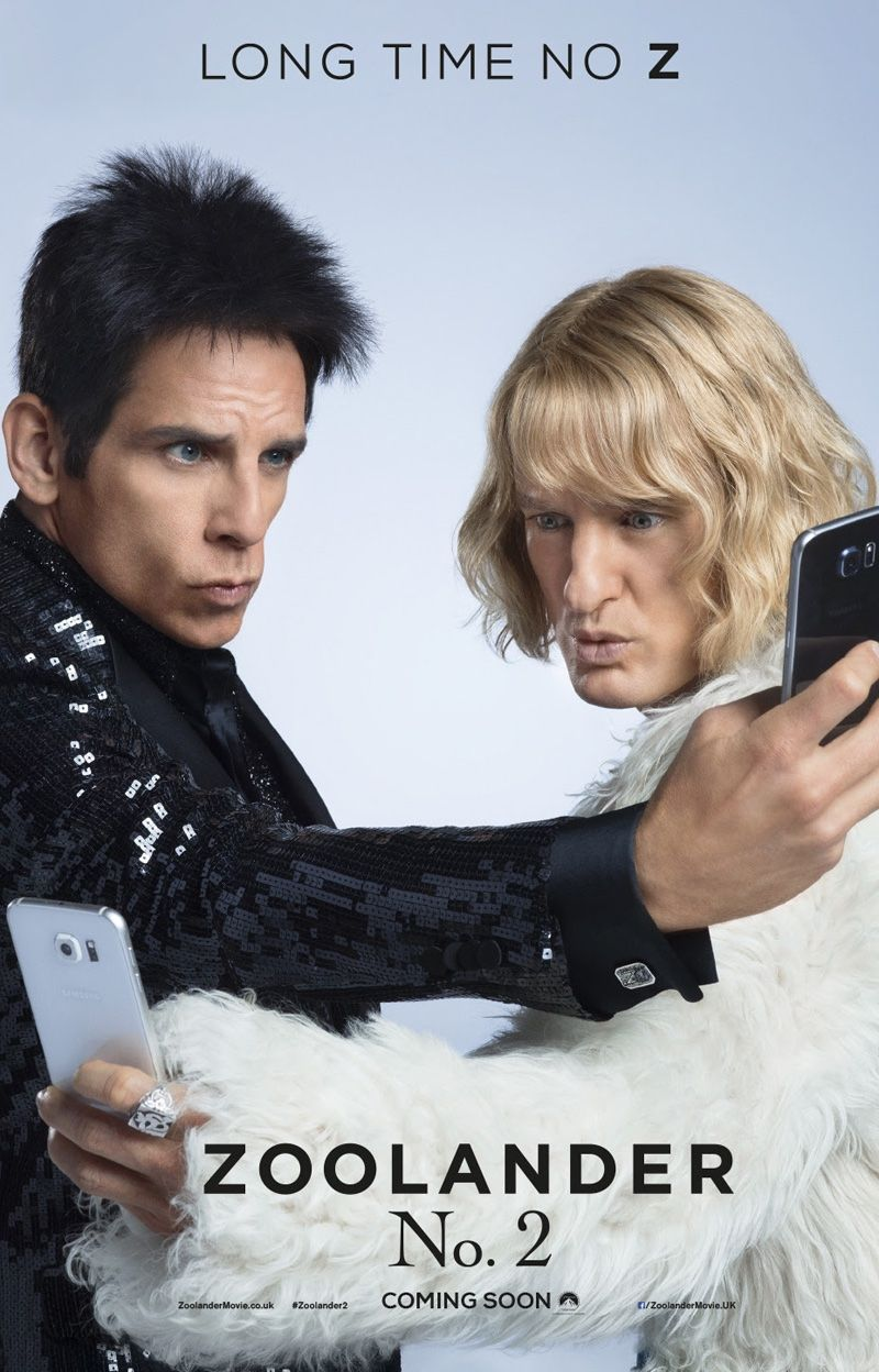 Penelope Cruz Rocks A Red Hot Catsuit On Zoolander 2 Poster Zoolander 2 Movie New Poster