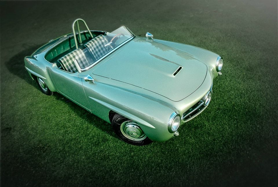 The 190 SLR Reimagined by the MercedesBenz Classic Center