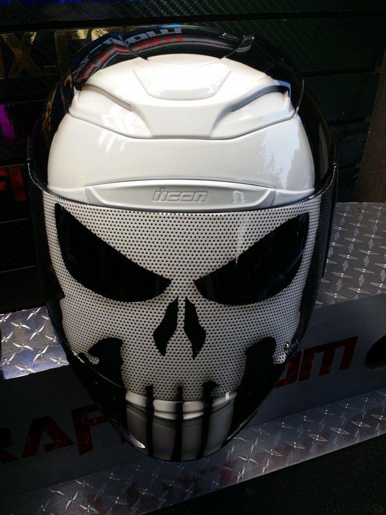 Punisher Helmet Punisher Motorcycle Fashion Men