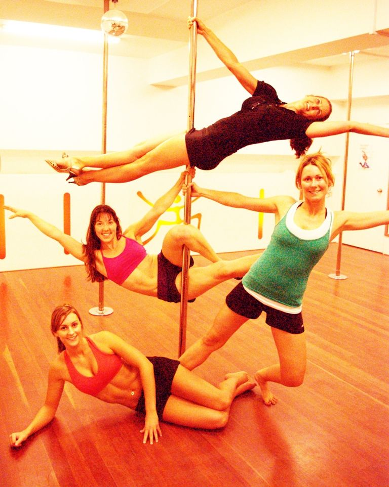 Take a pole dancing class - Pinner said: judge me if you ...