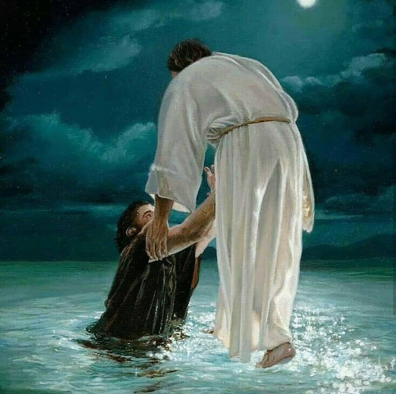 Jesus Auf Dem Wasser