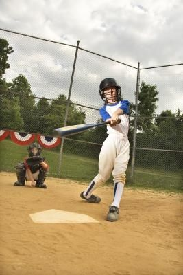 The Softball Swing Is A Complex Motion That Helps Develop Strength Timing And Hand Eye Coordination But Bec Softball Drills Slow Pitch Softball Softball Bats