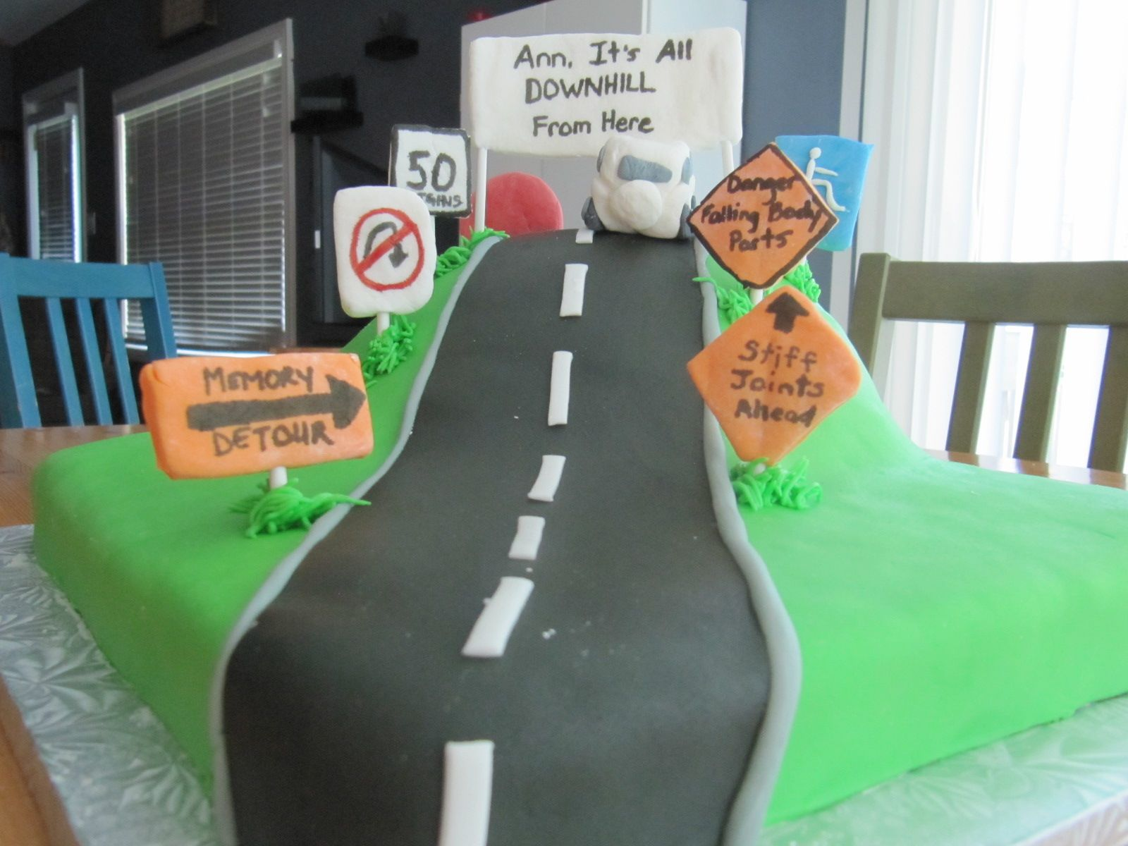 Cake Ideas For 50th Birthday For A Male : 50th birthday cakes for men running Pin 50th Birthday ...