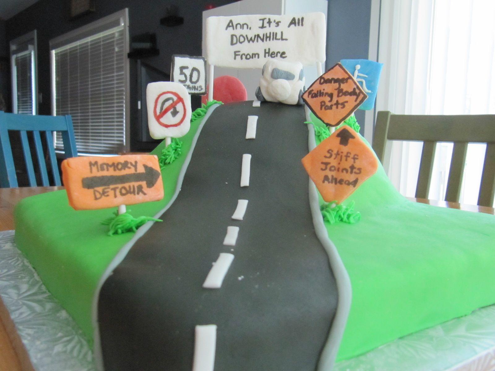 50th Birthday Cakes For Men Running Pin 50th Birthday Cake For