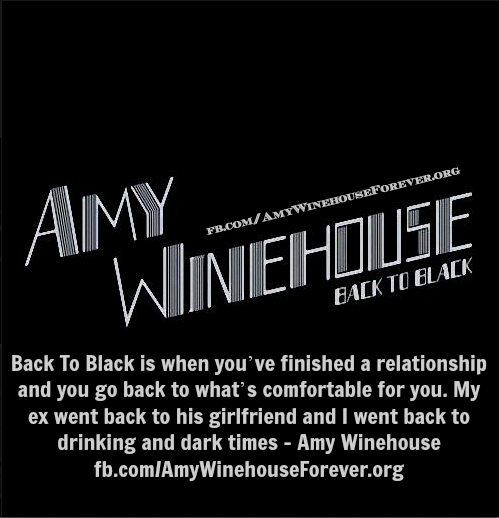 Why Amy Winehouse Wrote Back To Black The Album