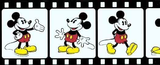 Disney Mickey Mouse Film Strip Wallpaper Border 15 Feet
