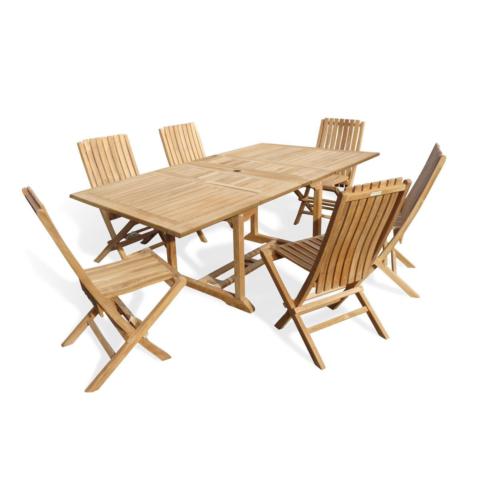 Outdoor Windsor Teak Furniture Buckingham Premium Teak 7 Piece