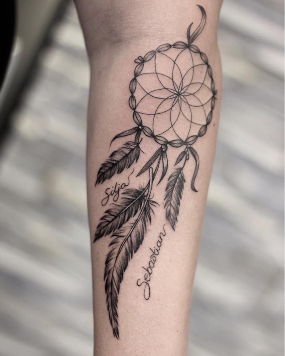Tatouage Attrape Reve Bras : tatouage, attrape, Dream, Catcher, Tattoo, Buscar, Google, Design,, Dreamcatcher, Tattoo,, Thigh