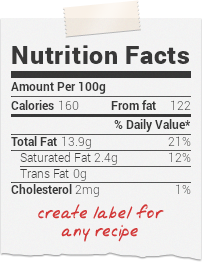 cut and paste a recipe to this website and get the nutrition facts