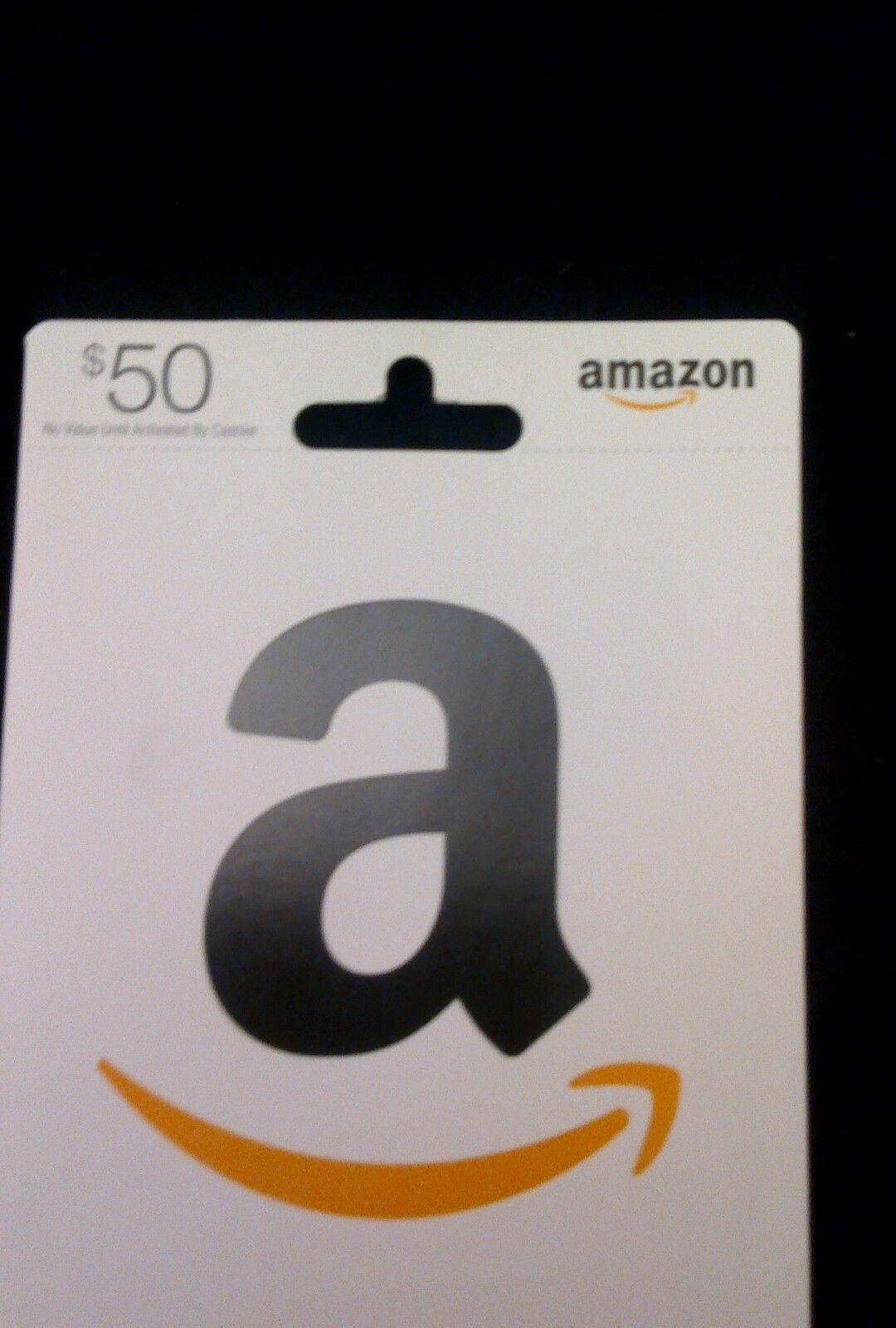 $50 amazon gift card promo