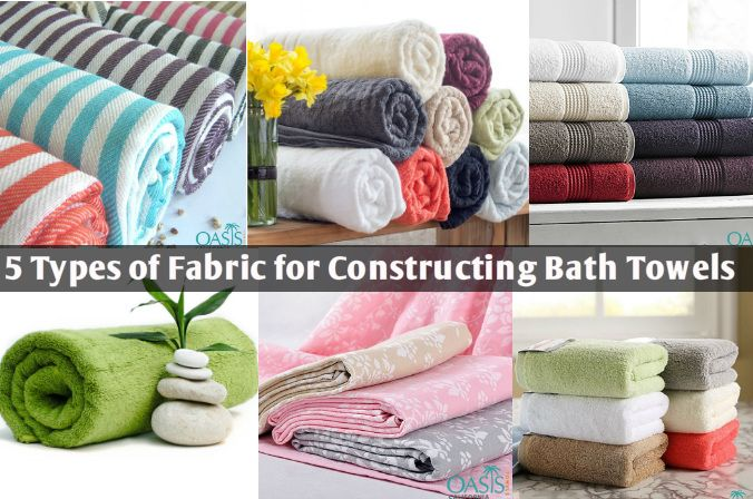 5 Types Of Fabric Used For Constructing Bath Towels With Images