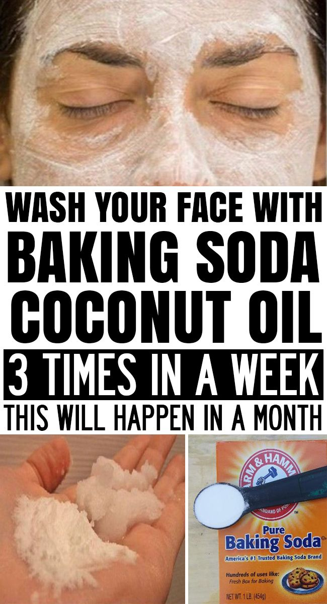 APPLY BAKING SODA + COCONUT OIL 3 TIMES A WEEK AND THIS WILL HAPPEN IN A MONTH! #beauty