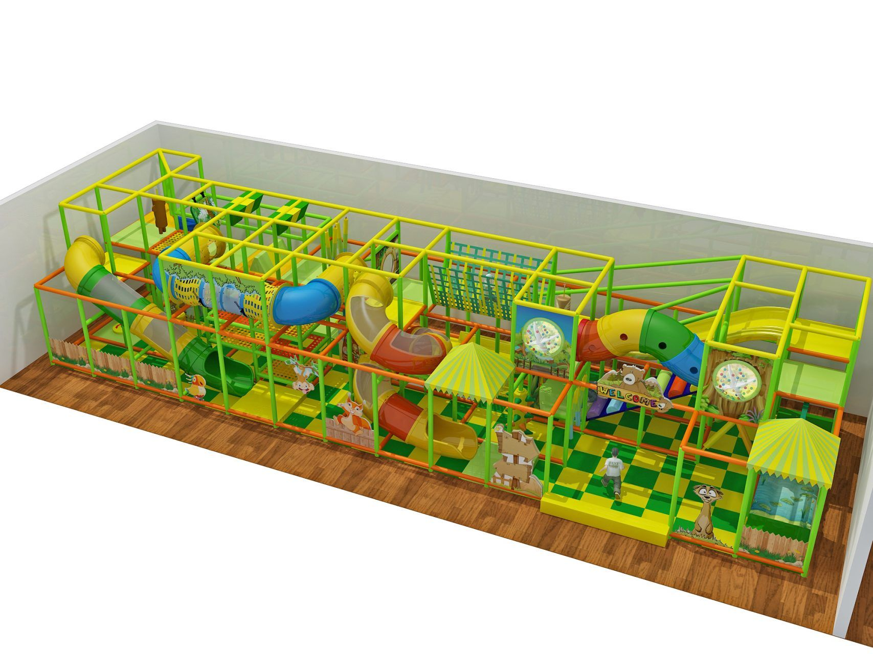 2 story Treehouse Theme Indoor Playground Indoor Playgrounds