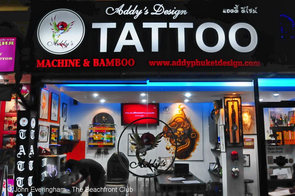 Kata Beach Phuket Tattoos are in fashion